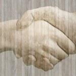 ジョーと力石幻の握手