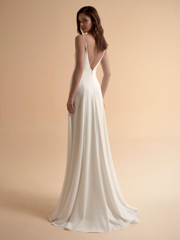 Robe de mariée forme droite Celeste par Modeca