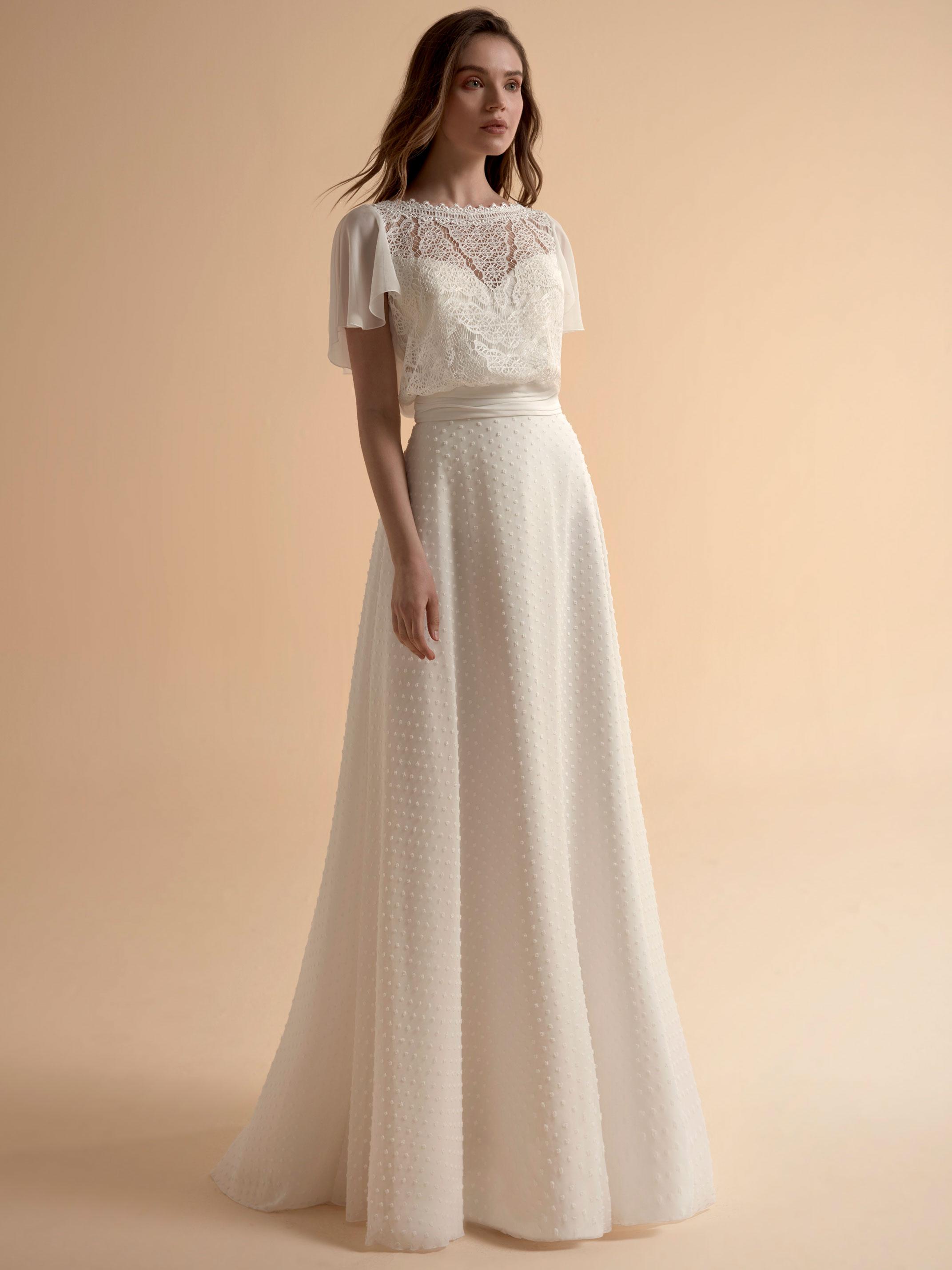 Jupe pour robe de mariée Cathy par Modeca