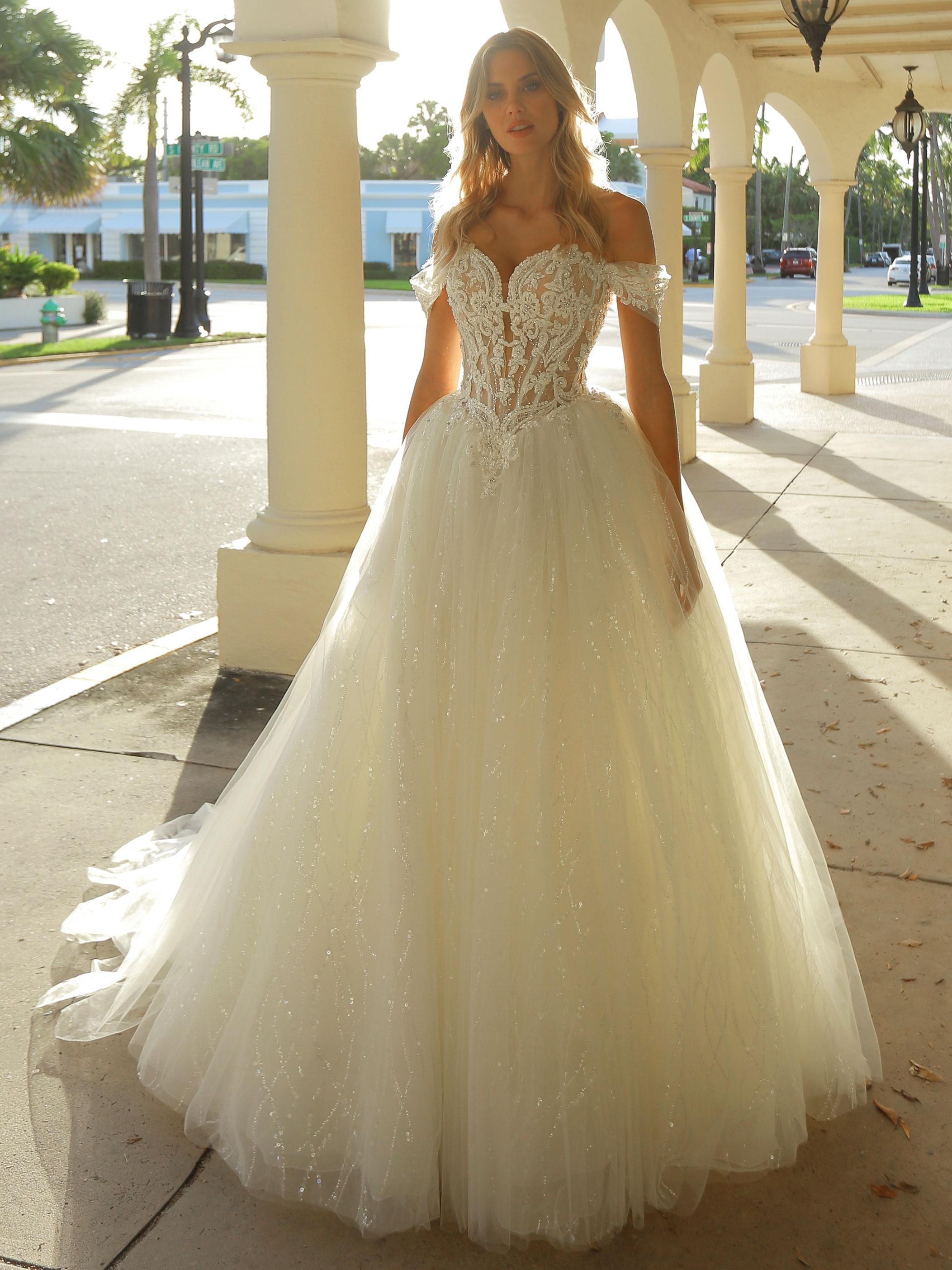 Robe de mariée princesse Antoinette - White