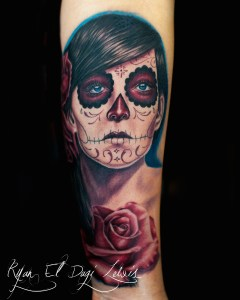 Day of the Dead Girl Rose