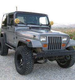jeep wrangler yj jeep wrangler yj 1987 1995 rock sliders white knuckle off road [ 2048 x 2048 Pixel ]