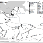 Lake Anna Horseback Riding Trail Map