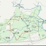 Manassas Battlefield Horseback Riding Trail Map