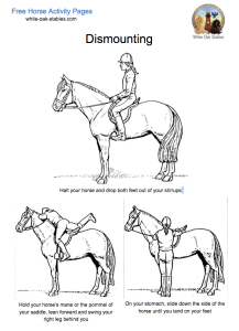 dismounting activity page
