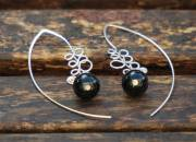 Onyx Earrings 2