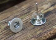 Spiral Stud Earrings 3