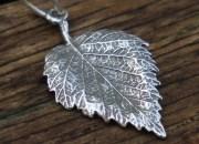 Silver Leaf Pendant 4