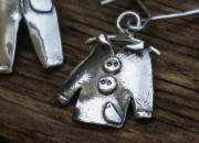 Silver Clothes Earrings 5
