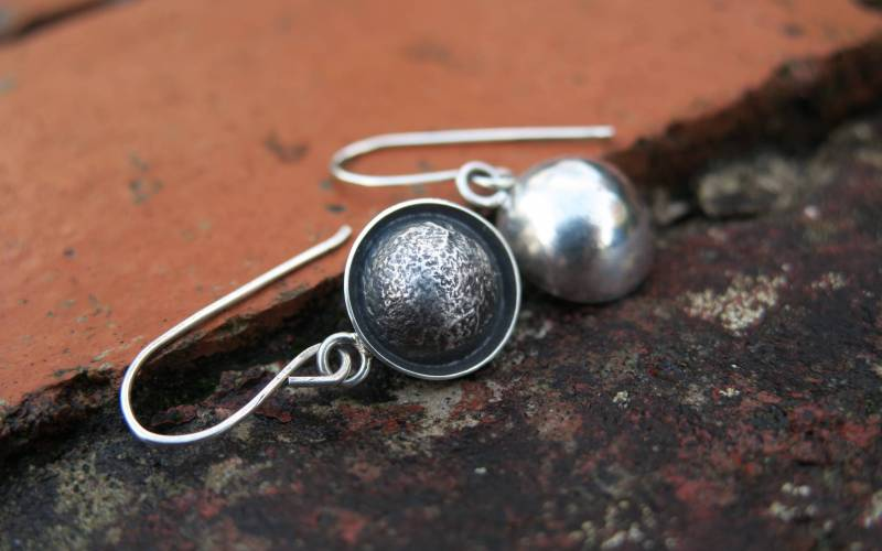 Unique Sterling Silver Earrings 1
