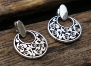 Sterling Silver Dangle Earrings 4