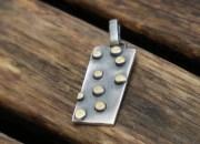 Silver Rectangle Pendant 3