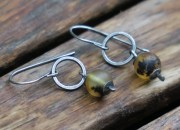 Baltic Amber Earrings 2