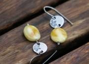 Silver Amber Earrings 4