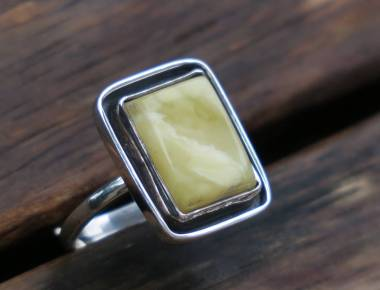 Milky Amber Ring 2