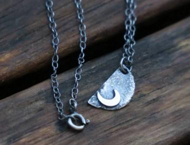 Handmade Moon Necklace 1