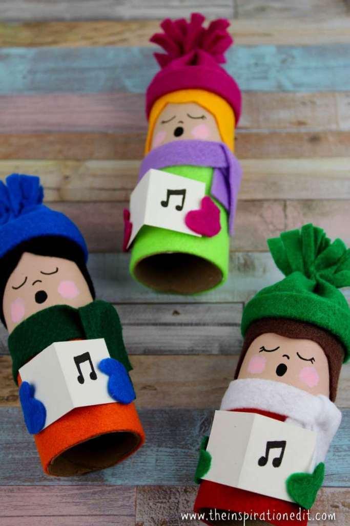 christmas-carolers- DIY