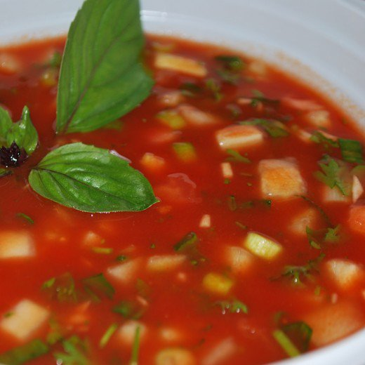 Gaspacho-Soup