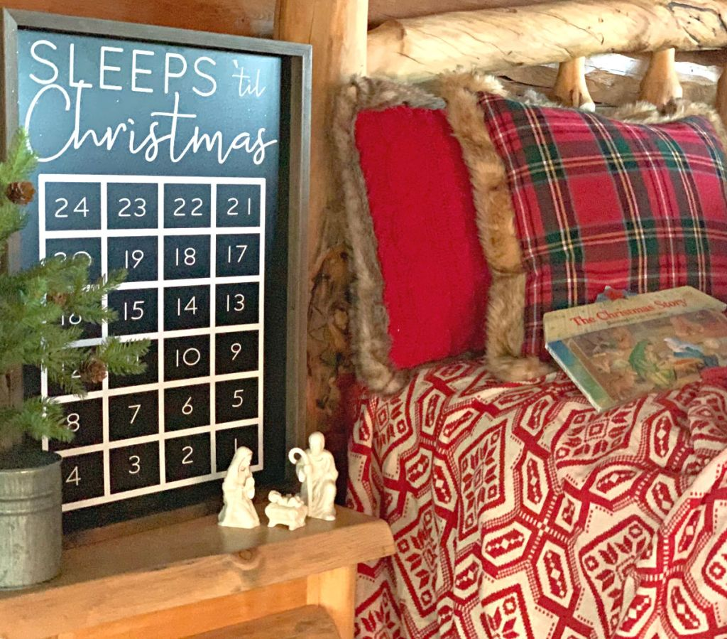 advent tradition sleeps til christmas bedtime story