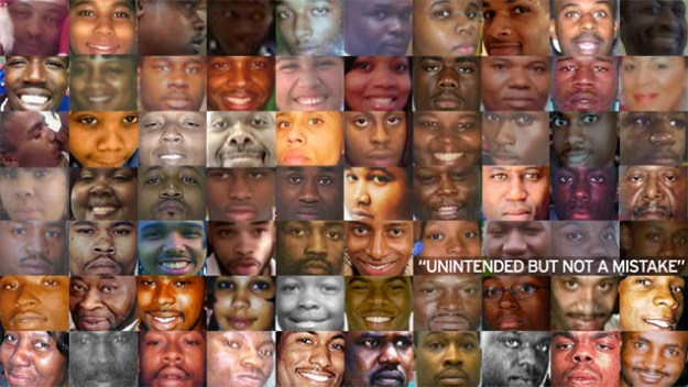 Unarmed Black Lives Lost