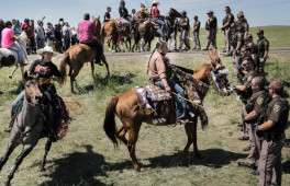 WA Newsletter NYT cover photo standing rock