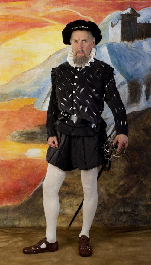 Sir Nicholas Baganel, 1510-1590