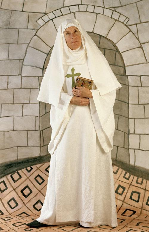French nun Sibylla d'Anjou, 1112-1165