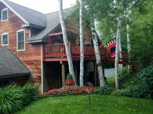 white birch cottage, vacation home rental, vt