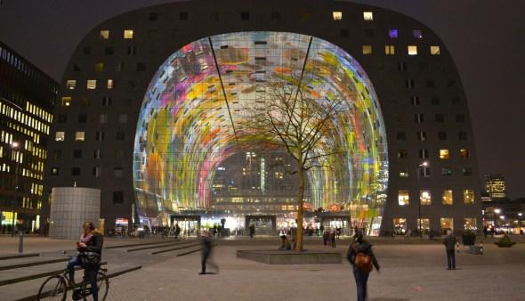 Markthal Rotterdam | Photo Marvin Kolk