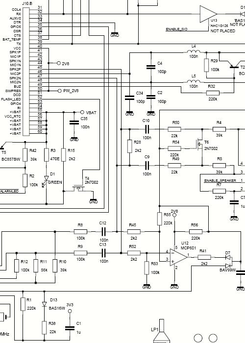 White Bream elektronica ontwikkeling