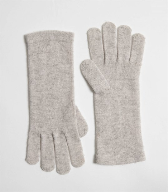Pure Cashmere Gloves Dove grey Woolovers.jpg