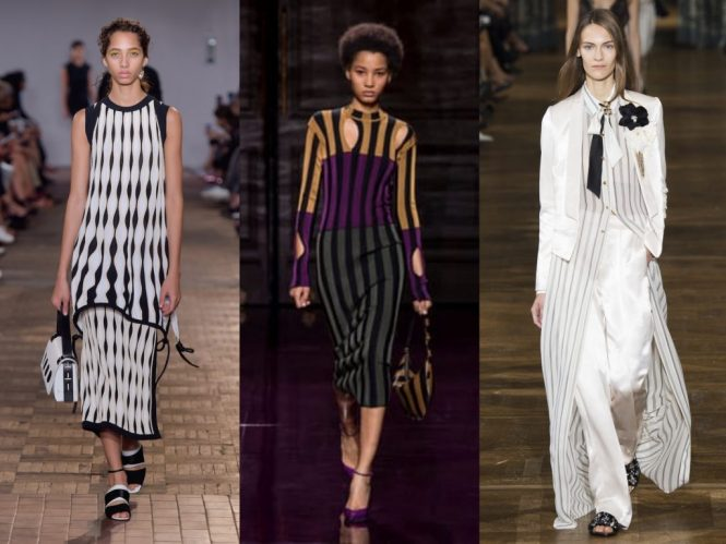 SS17 Runway trends edit stripes