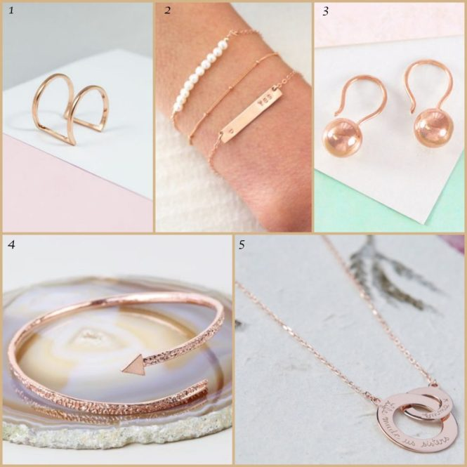 Rose Gold Jewellery Part 1