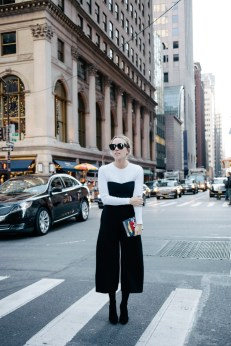 Dansel in Dior - Jumpsuit over long sleeve tshirt
