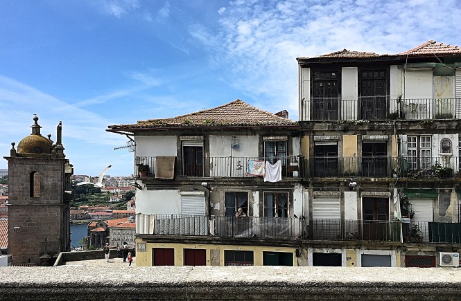 View from Se do Porto - Portugal with traditional houses