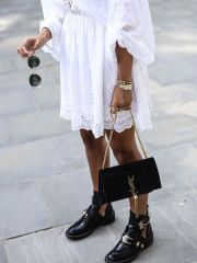 transition summer to autumn wardrobe - ankle boots 1