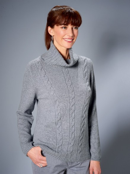 Easy everyday jumper in grey