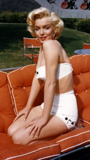 high waist bikini-marilyn-monroe- retro