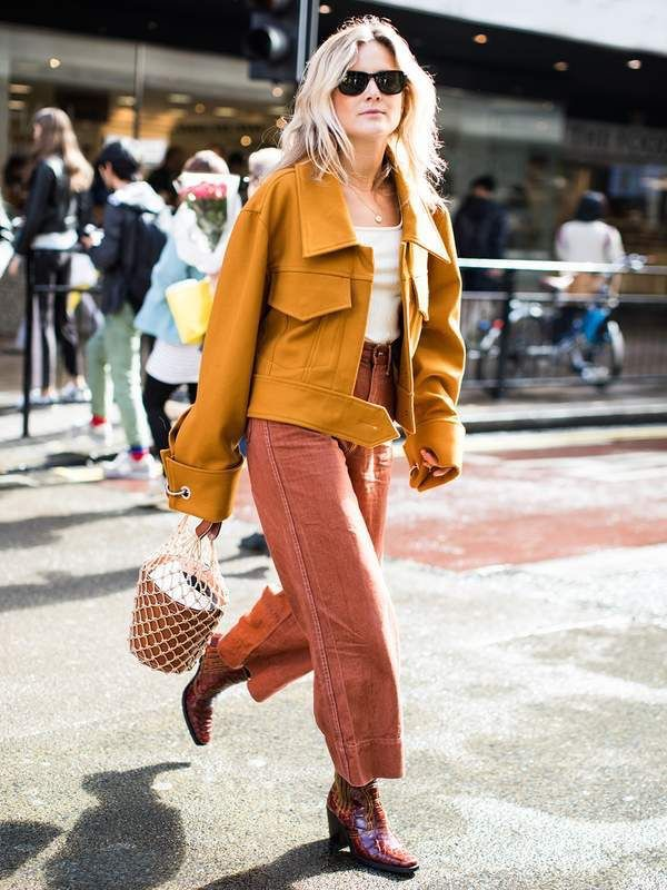 How to wear cowboy boots - with culottes