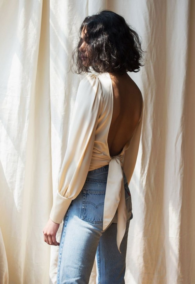 Open back top style inspo