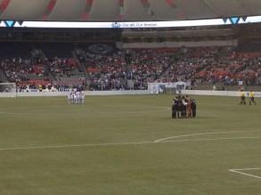 Pre-match huddles