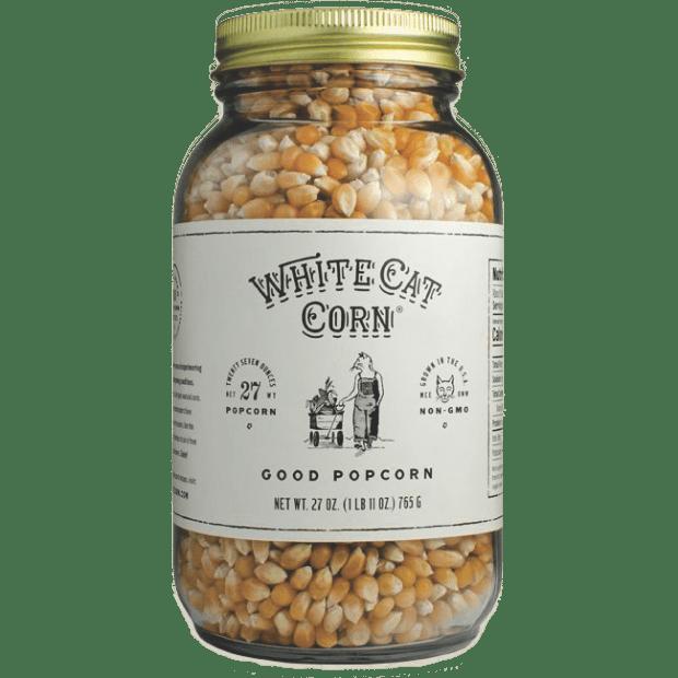 White Cat Corn - 27 oz. Popcorn