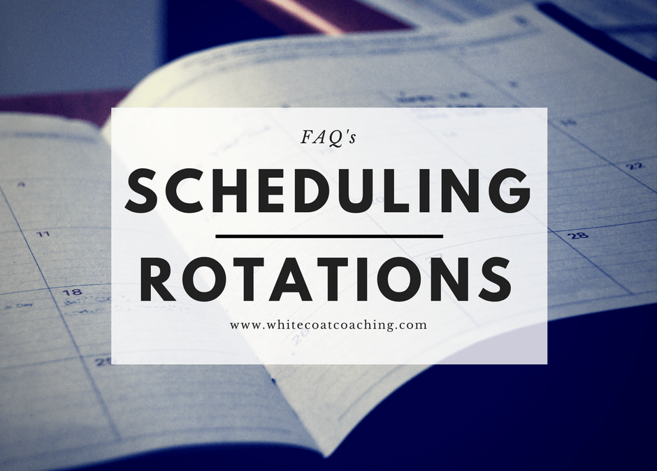Scheduling orthopedic away rotations   Frequently Asked Questions