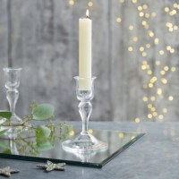Glass Small Dinner Candle Holder | Candle Holders | The ...