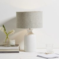 Ceramic Small Bottle Table Lamp | Table Lamps | The White ...