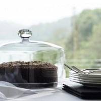 Glass Cloche & Plate | Tableware | The White Company US