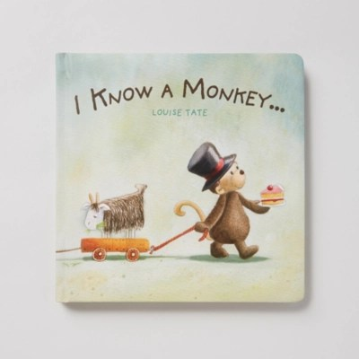 I Know a Monkey... Book by Louise Tate   Children's Home Sale   The White Company UK