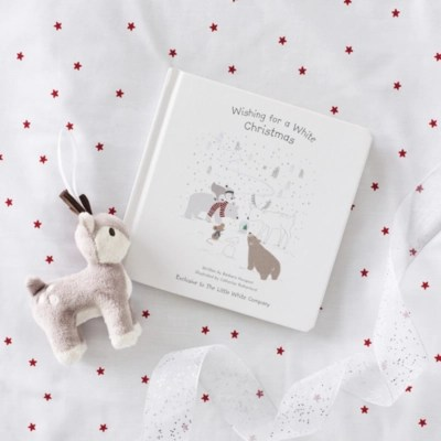 Wishing For A White Christmas Book by Barbara Horspool   Children's Home Sale   The White Company UK