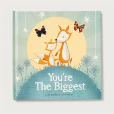 You're the Biggest Book by Lucy Tapper & Steve Wilson   Children's Home Sale   The White Company UK