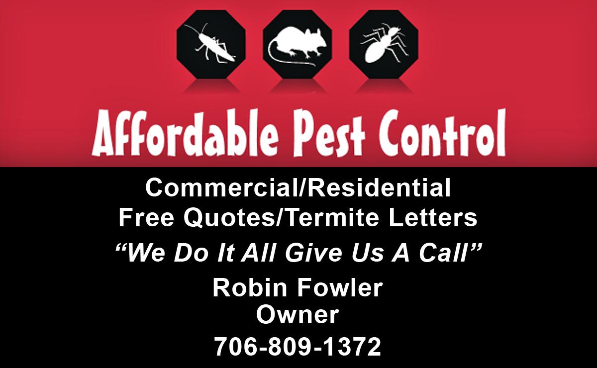 Affordable Pest Cotrol